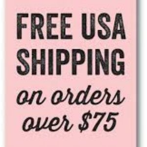 Free Shipping on Orders over $75.00
